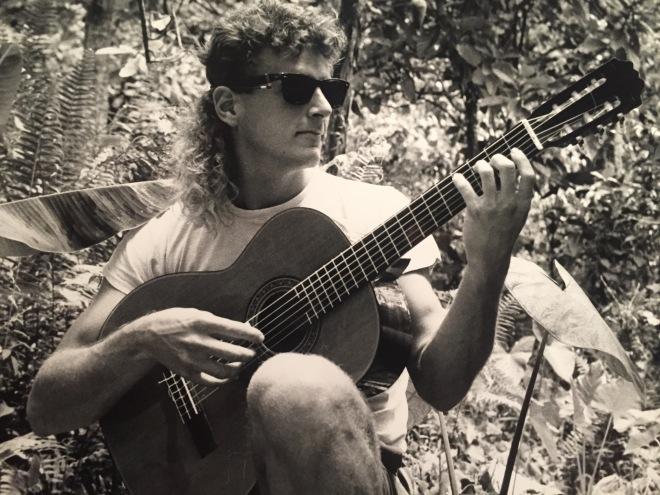 MJ Puerto Rico guitar 1986